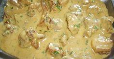 A hús megpuhul és fincsi lesz, a szósz pedig krémes és ízletes, ezt a receptet csak ajánlani tudom. Hozzávalók: 70 dkg sertéskaraj 1 evőkanál mustár…