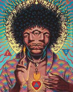 Music is my religion. Jimi Hendrix
