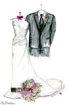 A Dreamlines artist creates wedding gifts to the bride from the groom, anniversary gifts and bridal shower gifts. Click here to see more www.MyDreamlines.com. #weddinggift #anniversarygift #oneyearanniversarygift #bridalshowergift