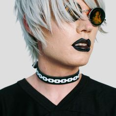 Image of LEATHER CHAIN - CHOKER
