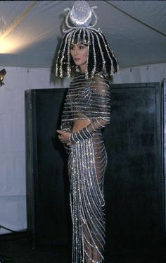 Cher as Cleopatra at Bob Mackie's 1988 Halloween Party