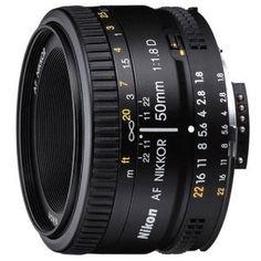 #6: Nikon 50mm f/1.8D AF Nikkor Lens for Nikon Digital SLR Cameras