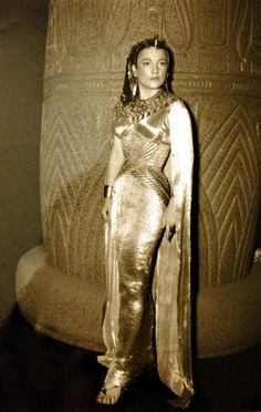 In her book, Intermission: A True Story, Anne Baxter mentions working with Cecil B. DeMille on The Ten Commandments (1956) and how, for the sake of authenticity, DeMille did not allow her to wear underwear with her many elaborate costumes. Some of her Queen Nefertari gowns were quite sheer (as you can see in these clips), and some of the publicity photos turned out to be too revealing for a 1956 public.