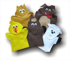 La poule Maboule Puppets for AIM Language Learning Program I have been making AIM Language Learning Puppets since 2007 This listing is for all 5 Puppets Chicken Sheep Horse Cat Wolf You wont be able to find these on their website anymor. Hand Puppets, Finger Puppets, Puppets For Sale, Book Libros, Teaching Programs, Teaching French, Shoe Box, Teaching Kids, Your Child