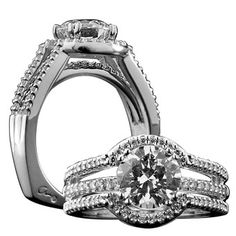 Engagement ring... before the Wedding Bands! :)