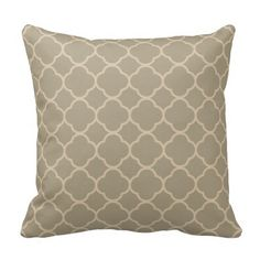 Shop Modern Vintage Chic Teal Quatrefoil Pattern Throw Pillow created by girly_paradise. Custom Pillows, Decorative Throw Pillows, Dry Sage, Quatrefoil Pattern, Decorating Your Home, Favorite Color, Teal, Chic, Modern