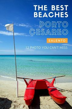 Discover new amazing places in Italy: browse our photo gallery of Porto Cesareo, in Salento.   Travel in Europe.