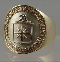 Picture of C.I.A Central Intelligence Rings Pendants