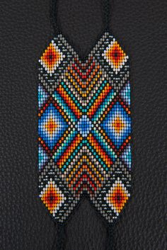 SALE Shiva Shakti Bracelet Blue Soul by myilumina on Etsy Beaded Braclets, Woven Bracelets, Tablet Weaving, Bead Weaving, Seed Bead Patterns, Beading Patterns, Shiva Shakti, Beading Projects, Loom Beading