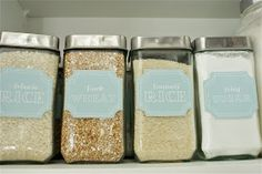 The Social Home: Pantry Pretty: Dollar Store Pantry Makeover