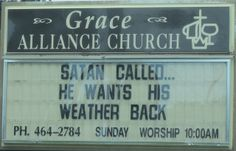 Funny Hot Weather Signs | Funny Sign | Flickr - Photo Sharing!