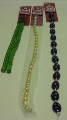 BEAD GALLERY BEADS LOT OF 3 LOVELY BEAD STRANDS NEW LOT # 8 #BeadGallery