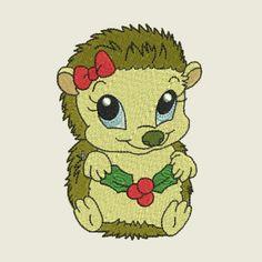 Christmas time hedgehog FULL SET | Spookies Treasures