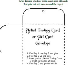 Make These Blank Easily Decorated Envelope Templates Your Next