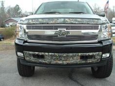 love it, chevy and camo