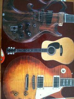 Houison guitar box-top view