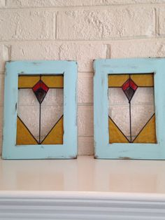 stained+glass++faux+stained+glass++craftsman+by+TurtleDoveGlass