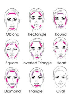 Learn How To Contour Your Face Shape!