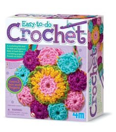 Are you or someone you know looking to learn to crochet? Well this is the kit for you!