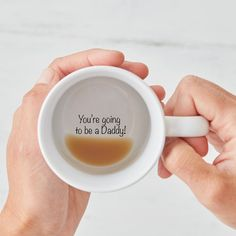 You're going to be a daddy mug going to be a by TheLetterLoftUK