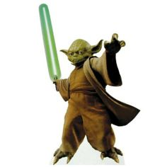 Yoda (Star Wars Episode III) Life-Size Standup Poster , 30x43 by Poster Revolution. $41.30. Stand Up Title: Yoda (Star Wars Episode III) Life-Size Standup Poster. Size: 30 x 43 inches. Add character to your room with our life-sized stand-ups. Yoda (Star Wars Episode III) Life-Size Standup Poster is that perfect piece that matches your style, interests, and budget.