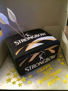 Strongbow Dark Fruit Cake
