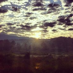 on the train from Bangkok to ChiangMai (Thailand), this is a scenery after i woke up…