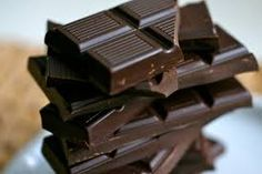Dark chocolate is good for your brain. It helps to improve the blood flow to the brain!