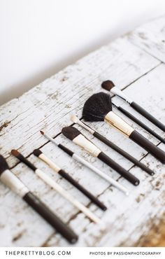 Must Have Make-up Brushes | Make-up & tips: Marli Basson, Photography: @Amanda Drost