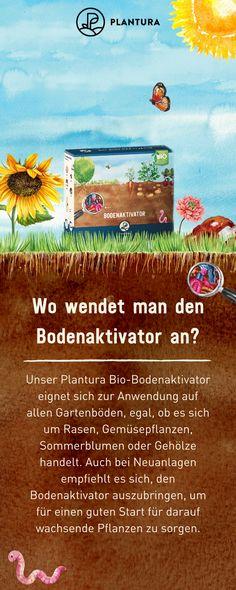 Bio-Bodenaktivator / Sack / kg Flora, Organic Gardening Tips, Nature, Plants, Tricks, Growing Plants, Microorganisms, Summer Flowers, Pot Plants