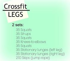Crossfit Inspiration: Crossfit Legs More Fitness Motivation at…
