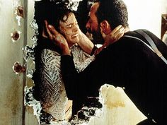 """20 photos from the making of """"Léon: The Professional"""" featuring Jean Reno, Natalie Portman, Gary Oldman, and writer/director Luc Besson Natalie Portman Mathilda, Jean Reno Natalie Portman, Leon Matilda, Michael Keaton, Gary Oldman, Nathalie Portman Leon, The Professional Movie, Leon The Professional Mathilda, Mathilda Lando"""