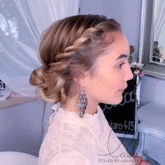 10 glamorous tutorials for braided hairstyles! - 10 glamorous tutorials for braided hairstyles! Braided Hairstyles Tutorials, Easy Hairstyles For Long Hair, Braids For Short Hair, Elegant Hairstyles, Girl Hairstyles, Wedding Hairstyles, Short Hair Styles, Hairstyles Videos, Hairstyle Short