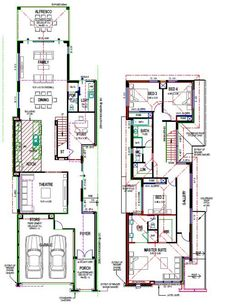 Specialising in the types of homes that other builders won't do. We can base plans off standard designs or do custom designed homes to suit any budget. Two Storey House Plans, My House Plans, Contemporary Architecture, Architecture Design, Storey Homes, Types Of Houses, Autocad, Backyard Ideas, Custom Design