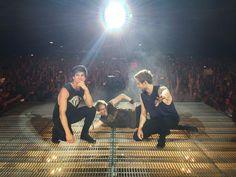 Calum, Michael and Luke