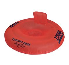 Encourage water confidence in the pool this summer with this red inflatable Buoyancy Trainer Seat, £15.49 from Wellies and Worms