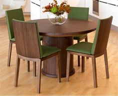 trends expandable round dining table #29364