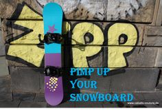 Snowboard upcycling