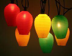 Camper tiki blow mold lanterns #blowmold