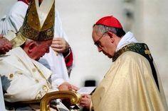 #GPII ed il futuro #PapaFrancesco quando era stato creato Cardinale #canonización #canonizazzione #canonization
