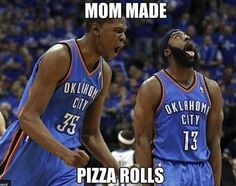 And finally, after the game, it's dinner time.  | 24 Perfectly Hilarious Basketball Pictures