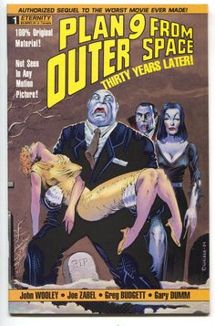 Plan 9 From Outer Space 1 Eternity 1991 NM Movie