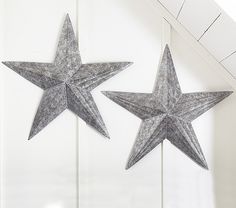 The Galvi Star would be fun to add over the crib. #potterybarnkids #spring 2014
