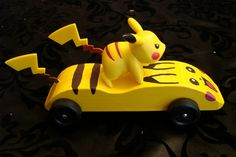 Ideas For Pokemon Pinewood Derby Cars Ideas Cub Scouts, Girl Scouts, Tiger Scouts, Awana Grand Prix Car Ideas, Dragster Car, Car For Teens, Girl Scout Activities, Wood Projects For Kids, Pinewood Derby Cars