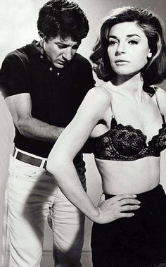 Dustin Hoffman & Anne Bancroft- The Graduate (1967) iconic film