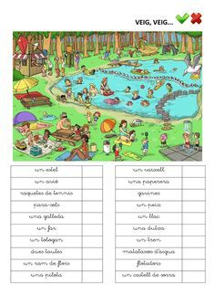 Publishing platform for digital magazines, interactive publications and online catalogs. Title: Veig Veig Paraules, Author: Length: 7 pages, Published: Catalan Language, I Spy, Digital Magazine, Public, Thing 1, Author, Reading, Worksheets For Kids, Reading Comprehension