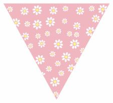 Daisy Bunting Free Printable Easy-to-Make