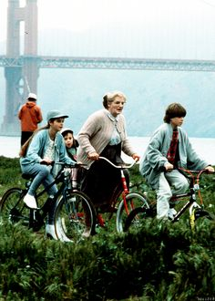 Mrs Doubtfire.  Rest in Peace, Mr. Williams #eSpokes #bikes
