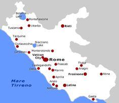 Lazio wine Region
