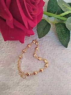 Gold Non-Precious Metal Base Metal Traditional Bracelet 1 Bangle Jewelry Design Earrings, Gold Earrings Designs, Bracelet Designs, Necklace Designs, Gold Bangles Design, Gold Jewellery Design, Gold Mangalsutra Designs, Gold Bracelet For Women, Gold Jewelry Simple